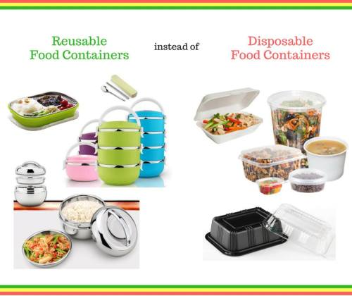 Reusable Containers and Lunchboxes